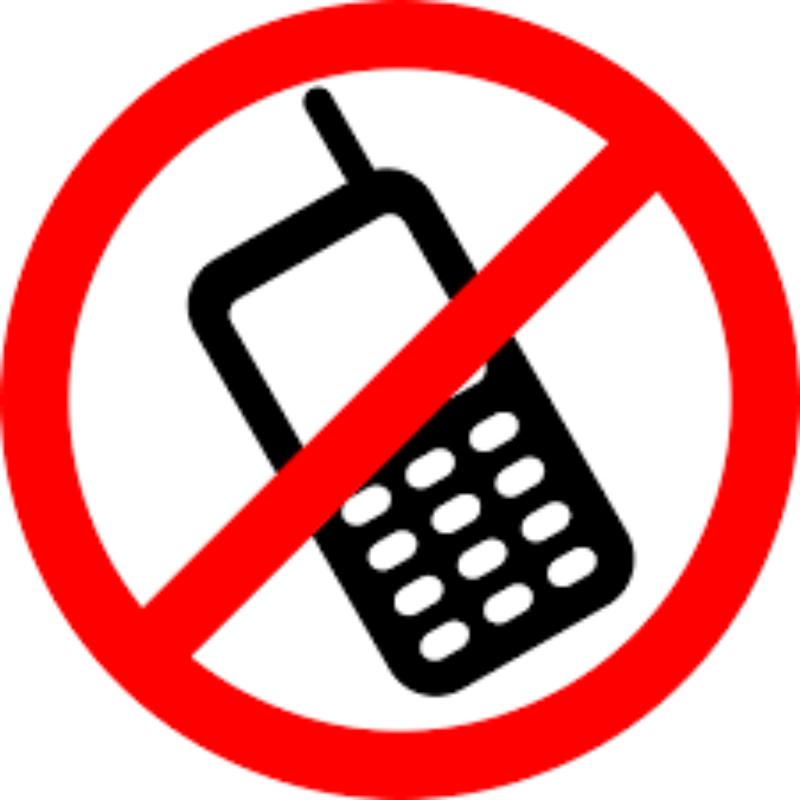 Divieto di utilizzo dei telefoni cellulari dura...